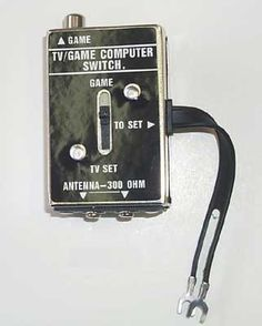 If you know what this is, you're getting old. (Holy crap I'm getting old! We had one of these on the TV in my childhood home. My Childhood Memories, Childhood Toys, Best Memories, Cherished Memories, School Memories, Childhood Friends, Arcade, Master System, 80s Kids