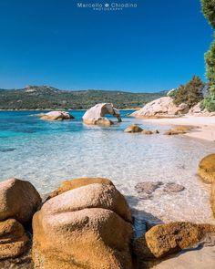 Spiaggia dell'Elefante - Arzachena - foto di Marcello Chiodino @marcellochiodino Beautiful Islands, Beautiful Beaches, Beautiful World, Destin Beach, Beach Trip, Sardinia Italy, Beach Landscape, Beach Scenes, Italy Travel