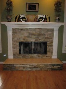 Ledgestone Fireplace | Ledgestone Fireplace Designs