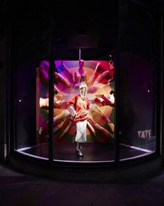Harvey Nichols TATE Modern The Art of Style windows - installed by Lucky Fox - Knightsbridge London September 2015