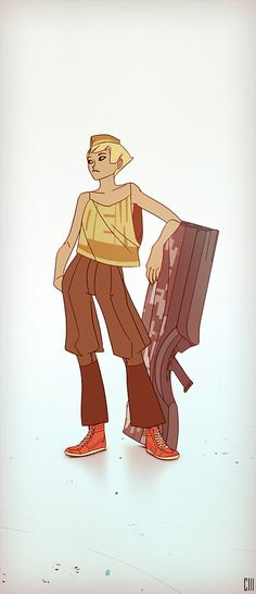 Character Design #1 on Behance