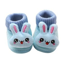 >> Click to Buy << Autumn and Winter Cuffs 3D Cartoon Big Eyes Rabbit Baby Toddler Shoes Boys and Girls shoes New Hot #Affiliate