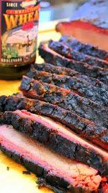 3 Ingredient Injection Marinade for Beef Brisket (on a Weber Grill). Steak Au Poivre, Grilling Recipes, Meat Recipes, Barbacoa Weber, Carne, Barbecue, Beef Marinade, Cooking With Beer, Smoking Recipes