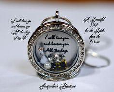 Bride Gift • Silver Round... - Jacqueline's Boutiqu...   Scott's Marketplace