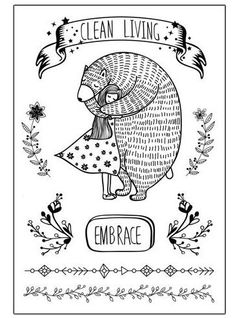 Stamp Cartoon Bear & Girl Hug Ali Express