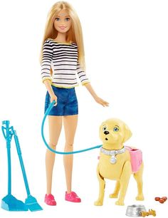 Barbie Girls Walk and Potty Pup With Blonde Doll Age 3 Mattel for sale online Ri Happy, Barbie Website, Barbie Toys, Barbie Playsets, Barbie Accessories, Kids Store, Dog Toys, Fashion Dolls, Cute Puppies
