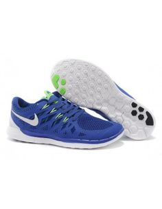 save off 32c1e 5d8a2 Cheap 2016 Nike Mens Free Blue Green White Mesh Running Shoes Online For  Sale