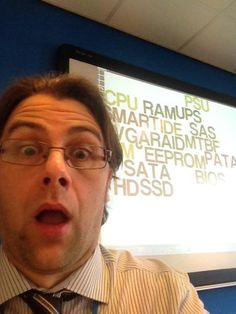 #geekselfie learning 18 geeky IT terms in 2 days with IT Professional apprentices!