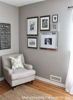 mirrored picture frames for wall Mirror Gallery Frames | Inside Stuff | Pinterest | Galleries, Walls ...