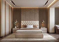 Modern bedroom design - 4 Principles for Creating the Perfect Bedroom Bedroom False Ceiling Design, Luxury Bedroom Design, Master Bedroom Interior, Bedroom Bed Design, Modern Master Bedroom, Bedroom Furniture Design, Contemporary Bedroom, Home Bedroom, Master Suite
