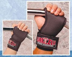 GRIZZLY GRABBERS are Glove and Wrist Strap Combined  Grizzly Grabbers replace traditional lifting straps, without discomfort to your wrist, because of the width and adjustability of the wrist strap