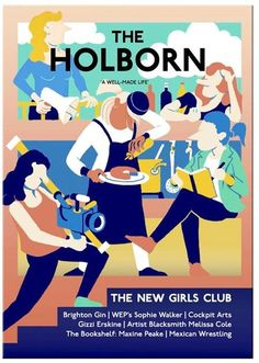 The Holborn is an independent magazine on a continual search for the best in design, apparel and craft: the new issue celebrates female makers, creatives and entrepreneurs that have challenged stereotypes and broken down barriers.