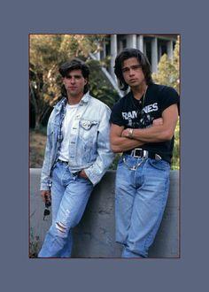 Brad Pitt 1989 (Vogue)