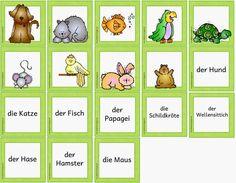 """Neues Materialpaket für DAZ zum Thema """"Haustiere"""" Nachdem euch das letzte DAZ- Materialpaket so gut gefallen hat, folgt nun (wie auch in d..."""