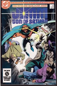 Jemm Son Of Saturn #1 Sept 1984 DC Comic Book First Issue Greg Potter Gene Colan