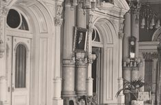 Rare photos of the Salt Lake Temple with historic interior photos. This is an amazing collection. Mormon Temples, Lds Temples, Rare Photos, Old Photos, Salt Lake Temple, Love Is Comic, Temple Pictures, Lds Mormon, Church History