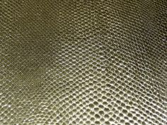 Gold AMAZON COBRA Metallic Cowhide Leather Hide 2.5-2.75 oz / 1-1.1 mm thickness    12x12 exact die cut size    Has a Gray suede backside that is