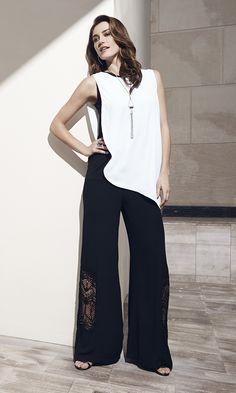This season, look for asymmetric hemlines, bold palazzo pants, and artful layering.