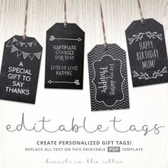 image relating to Free Printable Hang Tags titled 375 Easiest Printable Reward Tags photos within just 2019 Wedding ceremony choose