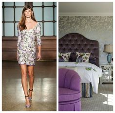 Spring 2013 trends from the runway to use as inspiration for your home decor Spring 2013 trends from the runway to use as inspiration for your home decor #fashion #runway #spring2013 #bedroom #floral