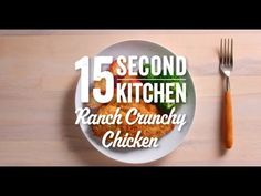 Crunchy Baked Ranch Chicken Recipe Video | Hidden Valley®