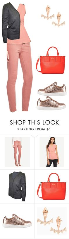 """""""Untitled #476"""" by pearse on Polyvore featuring 2LUV, Kate Spade, K-Swiss and Stella & Dot"""