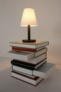 11 Book-Inspired Home Decor Ideas - Brit & Co. - Living