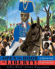 Describes how an African slave, Toussaint L'Ouverture, lead his fellow slaves of the island of St. Domingue (now Haiti) to revolt against the white plantation owners to gain their freedom and influence the course of world history.