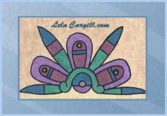 Aztec Art, Framed Art, Original Paintings