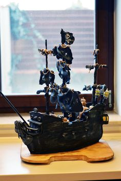 Pirates of the Caribbean - Black Pearl cake