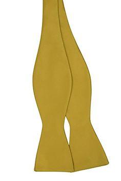 Jacob Alexander Solid Color Self Tie Bowtie - Gold Jacob Alexander http://www.amazon.com/dp/B007HMGDFK/ref=cm_sw_r_pi_dp_gQZ-vb0ZRC741
