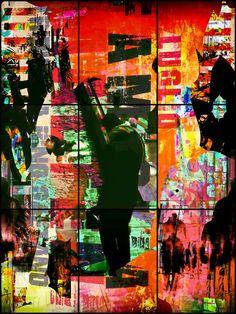 'People at Hamburg' von Gabi Hampe bei artflakes.com als Poster oder Kunstdruck $18.02