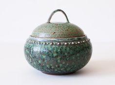 Ancient Turquoise Jar, Stoneware