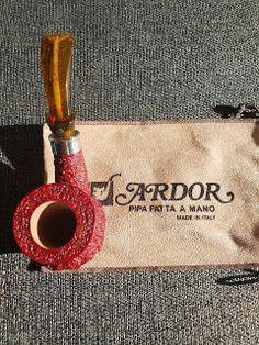 METALandMIRRORS: Ardor Urano Red/Brown Poker #pipes #tobacco #life #ladies