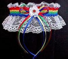 Rainbow wedding theme Inspiration needed please, Kept Elegant :  wedding bouquet bridesmaid cake dress dresses ideas inspiration rainbow shoes theme wedding Rainbowgarter