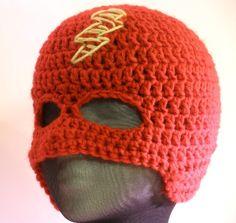 Crochet super hero hat/mask!