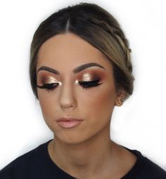 Gorgeous Makeup: Tips and Tricks With Eye Makeup and Eyeshadow – Makeup Design Ideas Natural Eye Makeup, Makeup For Brown Eyes, Makeup Tips, Beauty Makeup, Makeup Ideas, Makeup Inspo, Makeup Inspiration, Debs Hairstyles, Formal Makeup