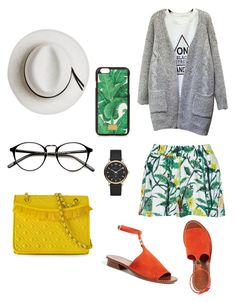 """""""Splash a bit of color"""" by dlalch on Polyvore featuring moda, Calypso Private Label, VILA, Dolce&Gabbana, Tory Burch y Marc Jacobs"""