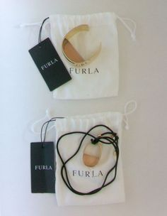 Furla Cuff Bracelet and Necklace Set from Curves Collection #Furla