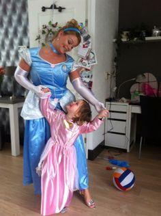 Ready for a Cinderella party Klaar voor Assepoester feestje