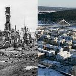 Map   Rovaniemi before and now 2014