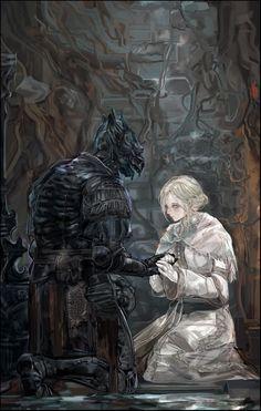 Sif Dark Souls, Dark Souls Art, Dark Fantasy, Fantasy Art, Character Inspiration, Character Art, Darkest Dungeon, Bloodborne, Weapon Concept Art