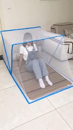 Folding Furniture, Home Decor Furniture, Diy Home Decor, Home Gadgets, New Gadgets, Diy Crafts Hacks, Diy And Crafts, Mosquito Net, Cool Inventions