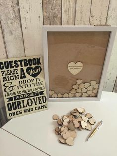 Love this guestbook idea.