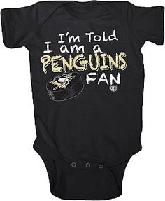 I'm sure if we ever have a boy it will always be in pens gear not that our little girl doesn't have her far share to haha