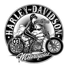 Harley-Davidson & Motorcycles on Behance
