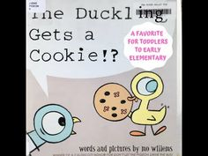 Early Word, Toddler Cookies, Library Work, Mo Willems, Teaching Letters, Reading Stories, Video Library, First Story, Book Title