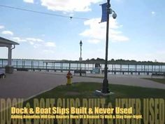Park located at the end of the Nautical Mile in Freeport, NY.