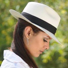 Fedora Panama Hat - Montecristi for Women - Gamboa