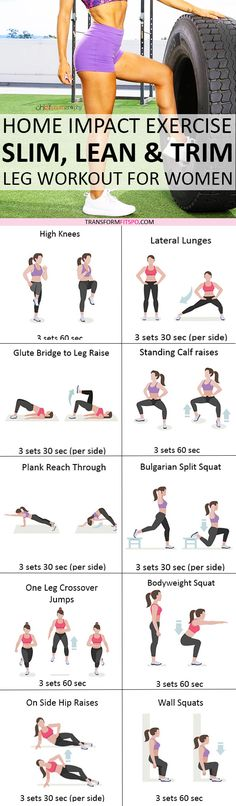 Repin and share if this workout gave you sexy, toned legs! Read the post for all the workouts!